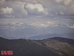 Vista desde la cima hacia Monte Perdido y Taillon ©aunpasodelacima