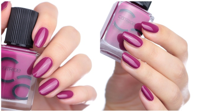 catrice iconails for the berry first time