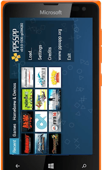Play PSP Games On Windows Phone, IPhone,BB10 and Symbian Devices 1
