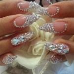 Bridal Nail Art with beautiful art 2017 2018