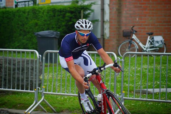 triatlon: fietsen