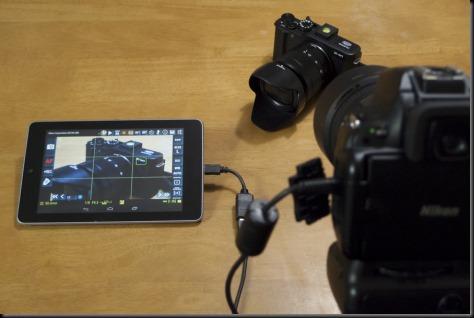 usb otg control kamera DSLR