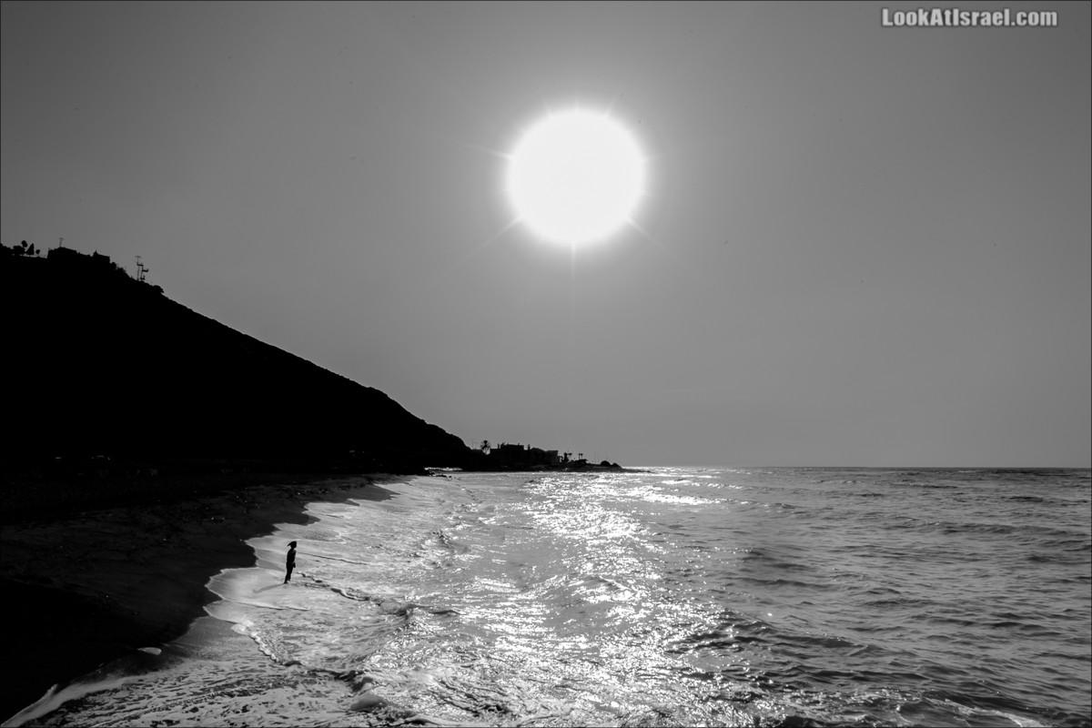 Закат над Хайфским заливом | LookAtIsrael.com - Фото путешествия по Израилю и не только...