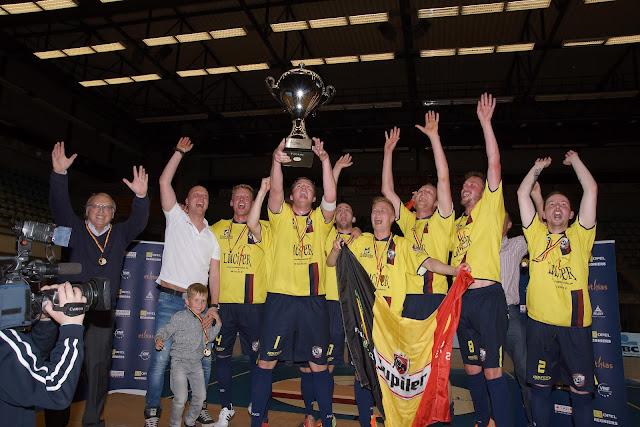 Synergie Merelbeke wint finale Beker van België minivoetbal