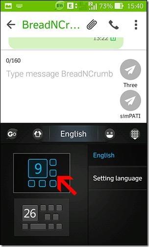 cara merubah tombol qwerty menjadi tombol ABC
