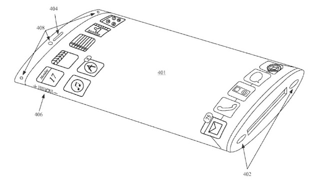 Apple Patents A New Delicate All Glass IPhone Design 1