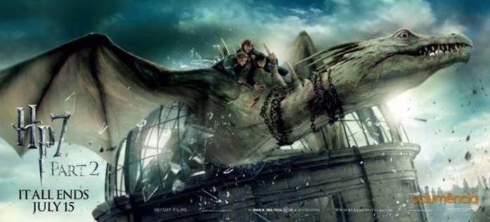 Los efectos especiales estuvieron muy presentes en todas las entregas de Harry Potter