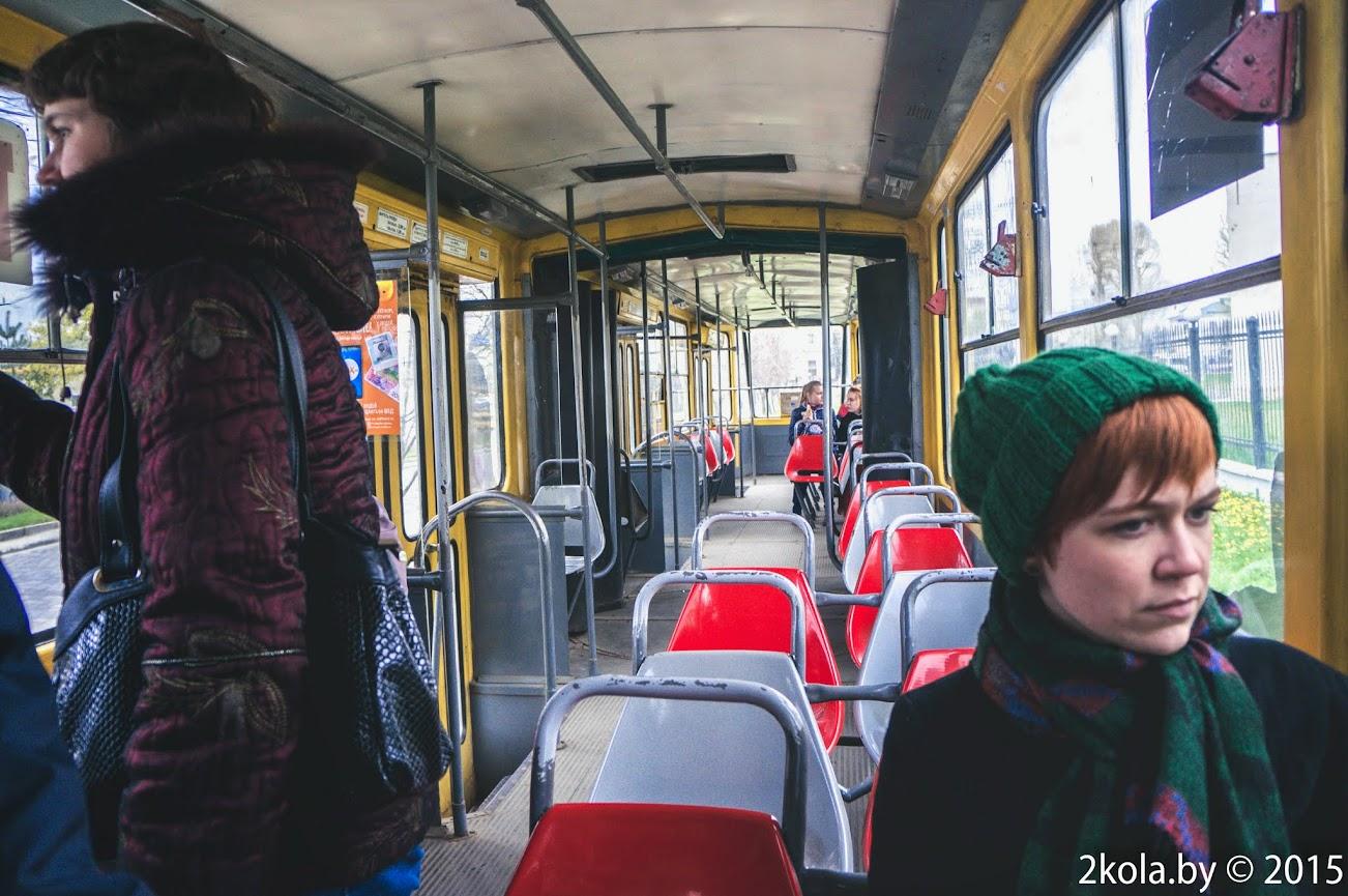 Вагон трамвая в г. Львов