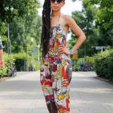 African Print Jumpsuits Styles 2017 2018