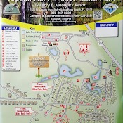 Topsail Hill Campground Map