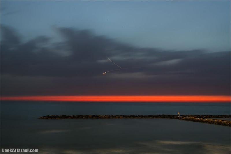 Тель Авивское закатнее НЛО