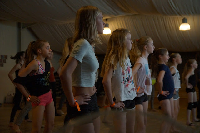 workshop dansen met Morgane