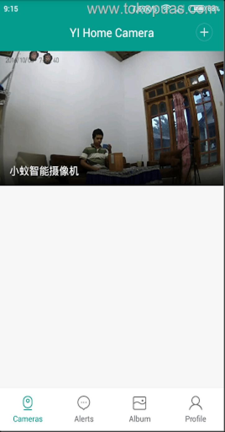 cara menggunakan xiaomi ants camera wifi ip
