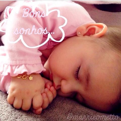 Bebê dormindo a noite toda