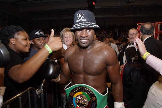 Yves Ngabu, WBC Francophone kampioen boksen