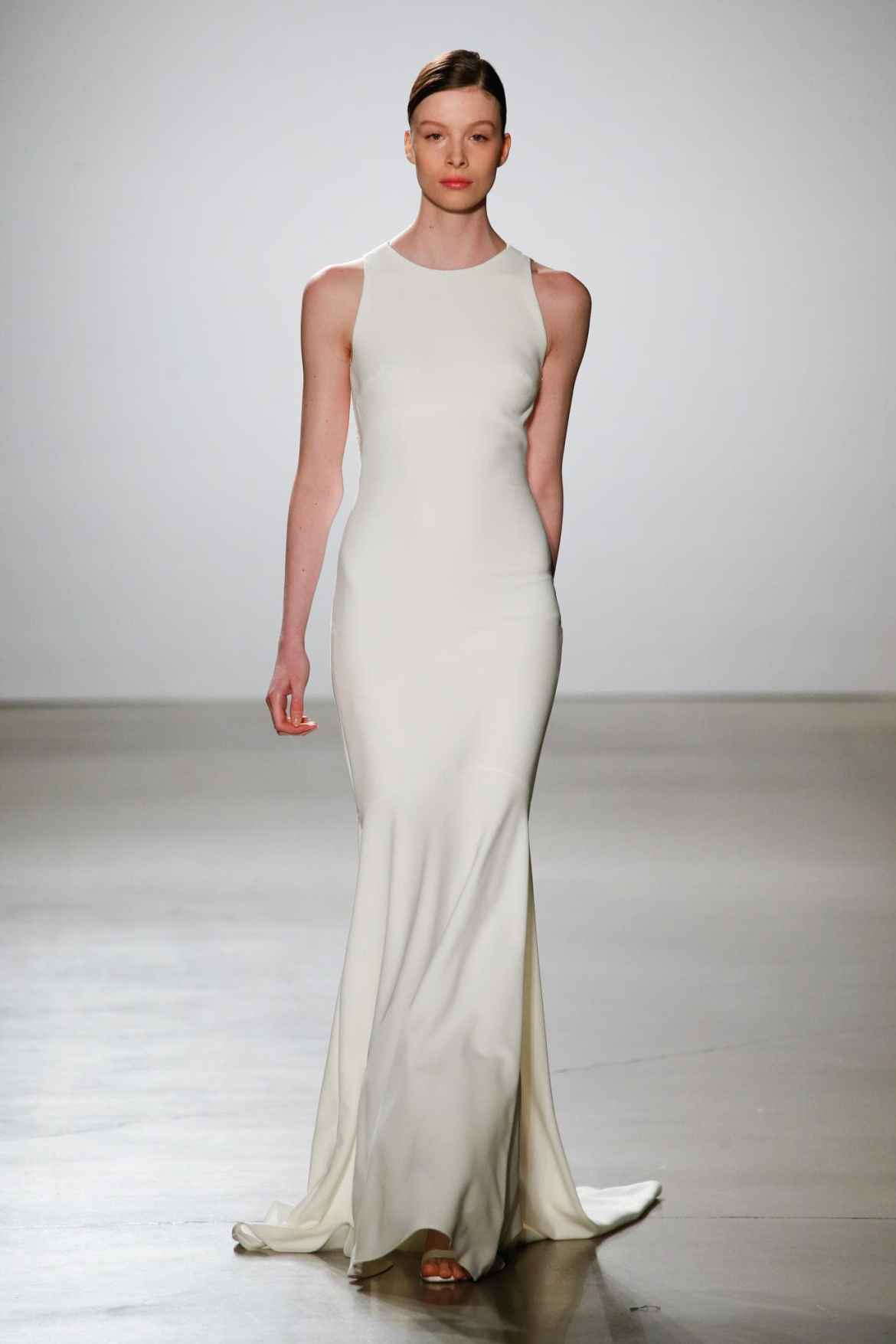 We adulation the adverse of a sleek, architectural clothes with a beachy setting.