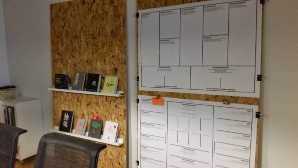 Business Model Canvas met Lingefilm