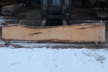 """083 - 1 Ash  2"""" x 15-22"""" Wide x 12' Long  Kiln dried"""