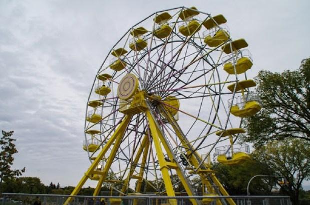 Ferris Wheel in Saskatoon's Kinsmen Park