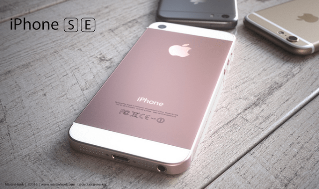 Apple Introduces The IPhone SE 1