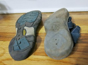 The women who fell off the Bell Trail was not the only casualty. After more than 6 years and 6 continents, the right sole on my Keen Newport H2 came off. Time to get a replacement in San Diego.