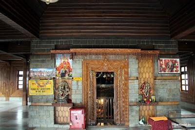 Inside Manu Temple, Old Manali