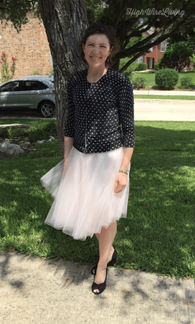 tulle skirt diy