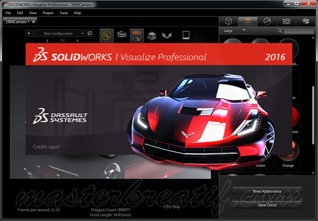 SOLIDWORKS Visualize 2016