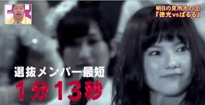 島崎遥香(ぱるる)のスピーチは選抜メンバー最短の1分13秒