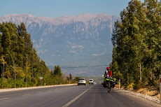 Mountains coming out of Fethiye