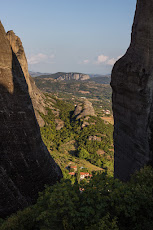 View of Theoptra while hiking