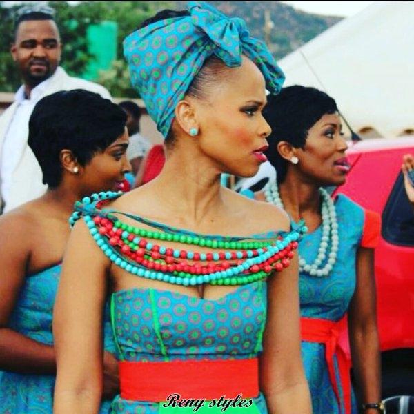 Best Shweshwe Fashion Amp Traditional Wedding Dresses 2