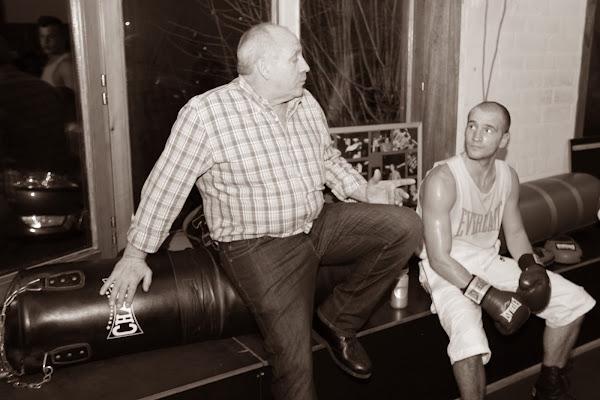 Jean-Pierre Poppe met Kobe Vandekerkhove