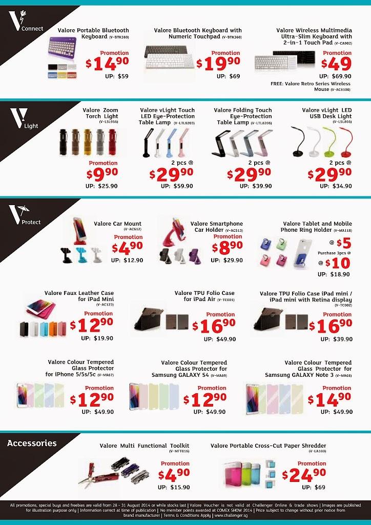 Valore COMEX 2014 Flyer - Page 2