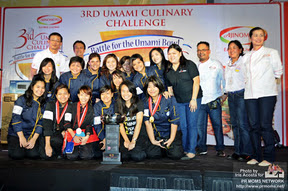 3rd Umami culinary challenge big winner