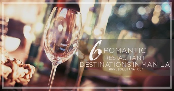 romantic restaurants in manila