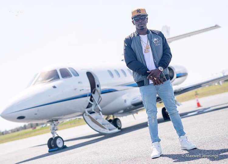 Image result for shatta wale private jet