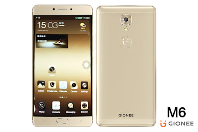 GIONEE M6 FULL DEVICE SPECS