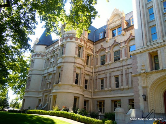 Spokane County Courthouse: 19 世紀的歷史建築, 屬於法國新文藝復興風格. French Renaissance style.