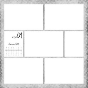 Project Life 2016 Template Variant