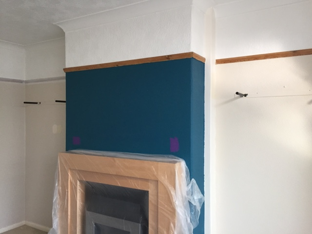 Creating A Feature Wall Using Dulux Paint Diy Daddy