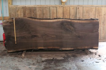 "508 Walnut -4 12/4  x  46"" x  40"" Wide x 10' Long"