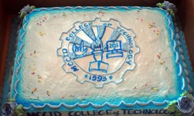 MCCID 18th Anniversary Cake