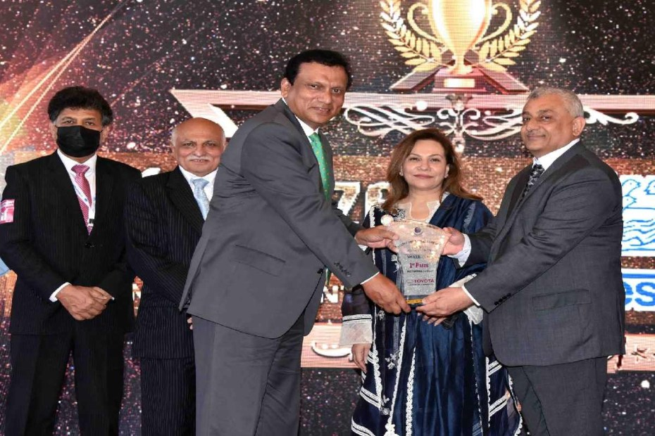 Indus Motor Awarded 1stPrize by Global Compact Network Pakistan