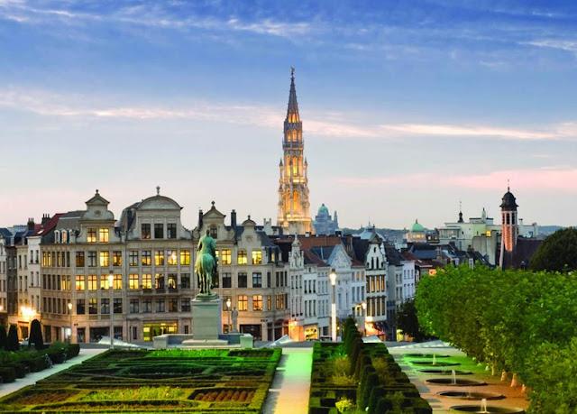 Верхний город, Брюссель