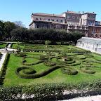 The Barbarini palace garden.