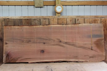 "471 White Oak -4 2 1/2 "" x 52"" x 48"" Wide x 10' Long"