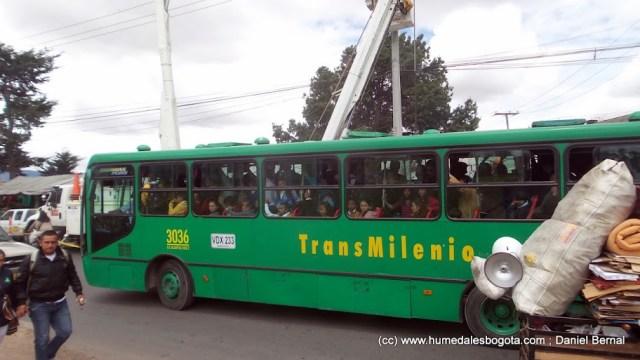 Cruce vehícular Calle 139
