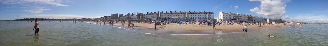 Beach at Weymouth