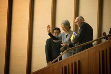 En el evento estuvo presente la Emperatriz Michiko de Japón